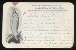 Italia. Lazio. Roma. *Pélerinage International Des Enfants De Marie à Rome* Circulada 1905. - Roma (Rome)