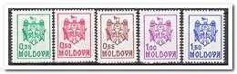 Moldavië 1992, Postfris MNH, State Emblem - Moldavië