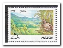 Moldavië 1992, Postfris MNH, Bird - Moldavië