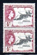 354  490 - VIRGIN ISLANDS 1956 , Yvert N. 113  ***  Coppia - British Virgin Islands