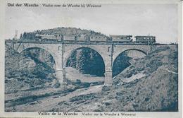 WEYWERTZ ..-- TRAIN Sur Le VIADUC De WEVERCE . Vers ANDERLECHT . Voir Verso . - Bütgenbach