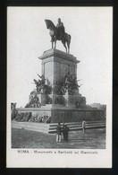Italia. Lazio. Roma. *Monumento A Garibaldi Sul Giannicolo* Nueva. - Roma (Rome)
