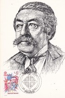 CPM 10X15. Entier Postal 1er Jour 1980 . ARISTIDE BRIAND Homme Politique Français   (ilust. R. FAICT) - Personnages