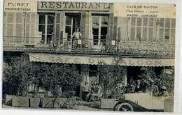 Langres Café Du Balcon Radio Concert, Voiture Blanche, , Furet Propriétaire - Langres