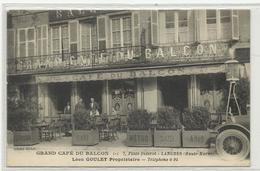 LANGRES Grand Café Du BALCON, Léon GOULEY, Voiture, Pompe - Langres
