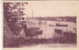 Cp , 29 , CONCARNEAU , Vue Du Moros - Concarneau