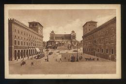 Italia. Lazio. Roma. *Piazza Venezia* Ed. A. Scrocchi Nº 4375-14. Nueva. - Lugares Y Plazas