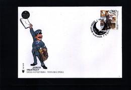 Bosnia And Herzegowina Banja Luka 2018 Art - Postman FDC - Post