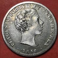 500 RÉIS DE 1856 -SILVER «D.PEDRO V 1853-1861» - Portugal