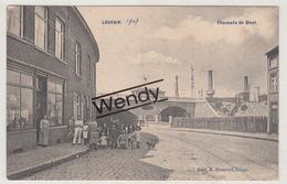 Leuven (Chaussée De Diest Animée 1907) - Leuven