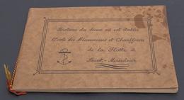 SAINT-MANDRIER 1939 : Histoire Des Lieux Où Est établie L'Ecole Des Mécaniciens Et Chauffeurs De La Flotte - 1939-45