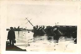 241018 - GUERRE 39 45 Bateau - 27 11 1942 Sabordage Flotte Française à TOULON Contre Torpilleur Vautour Quai Des Machine - Toulon