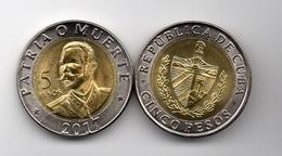 Cuba - 5 Pesos 2017 UNC Ukr-OP - Cuba
