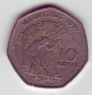 (Monnaies). Ile Maurice Mauritius 10 Rupees 1997 & 10 R 2000 (2) & Lot N°1 - Mauritius