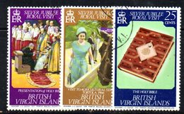 350  490 - VIRGIN ISLANDS 1977 , Yvert N. 315/317  Usata - British Virgin Islands