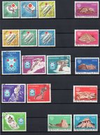 Panama, 1964, 1968 (2 X), Michel 714/19, 974/79, 1046/51, Gestempelt/°/stamped, Tokio, Mexiko, Grenoble - Panama