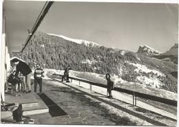 W259 Bressanone Brixen (Bolzano) - Albergo Alpino Vallazza Berghotel Plancios - Panorama Invernale / Viaggiata 1961 - Andere Steden