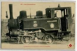 LANGRES Locomotiver VILLE DE LANGRES, Cremaillere N° 1 Gros Plan, Rare - Langres