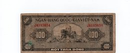 VIETNAM DEL SUD 100 DONG 1955 P-8 - Vietnam
