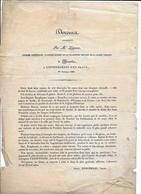 10/10/1830 Enterrement D'un Brave Jean Baptiste Booghmans Tué Lors De La Révolution Belge Très Rare - Historical Documents