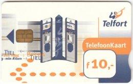 NETHERLANDS B-303 Chip Telfort - Communication, Phone Booth - Used - Netherlands