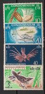 Nouvelles Hébrides - 1963 - N°Yv. 203 à 206 - Série Complète - Neuf Luxe ** / MNH / Postfrisch - Englische Legende