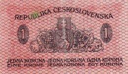 CECOSLOVACCHIA-1 KORUNU  1919 P-6 - Cecoslovacchia