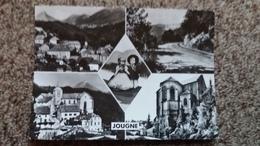 CPSM JOUGNE DOUBS VUE GENERALE MONT D OR COUPLE FRANC COMTOIS EGLISE ED CAP 1964 - France