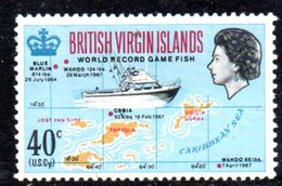 858  490 - VIRGIN ISLANDS 1967 , Yvert N. 187  *** - British Virgin Islands