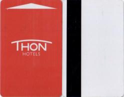 Hotel Key Card, Room Key, Schlusselkarte, Sleutelkaart, Clef De Hotel -Thon Hotels-2371 - Cartas De Hotels