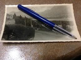 Photo Originale Lugano Hôtel Belle Vue Au Lac - Cartes Postales