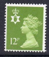 NORTHERN IRELAND GB - 1980 DEFINITIVE 12p STAMP SG NI31 FINE MNH ** - Regional Issues