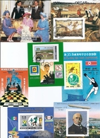 LOT 7 BLOCS Dont Chess World Championship, Football World, Olympic Games - Timbres