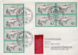 Postal History Cover: Germany Stamps On Express Cover - Other