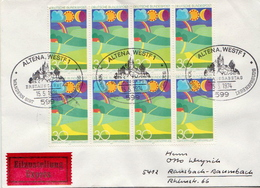 Postal History Cover: Germany Stamps On Express Cover - Environment & Climate Protection