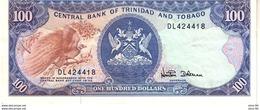 Trinidad & Tobago P.40d 100 Dollars  1985 Xf - Trindad & Tobago