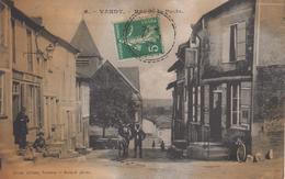 CPA Vandy - Rue De La Poste (jolie Animation) - France