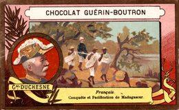 CHROMO EXPLORATEUR GAL DUCHESNE - CHOCOLAT GUERIN BOUTRON - Guerin Boutron
