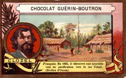 CHROMO EXPLORATEUR CLOZEL - CHOCOLAT GUERIN BOUTRON - Guerin Boutron