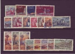 COTE SOMALIS N° 264 / 282 1947 - French Somali Coast (1894-1967)