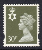 NORTHERN IRELAND GB - 1993 DEFINITIVE 30p STAMP SG NI74 FINE MNH ** - Regional Issues