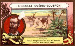 CHROMO EXPLORATEUR GEORGES REVOIL - CHOCOLAT GUERIN BOUTRON - Guérin-Boutron