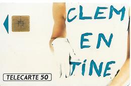 CARTE=-PRIVEE-50U-EN372-SO3-05/92-CLEMENTINE-TBE- - 50 Einheiten