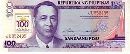 Philippines P.188b  100 Piso 1998 Unc - Filippine