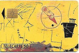 CARTE=-PUCE-PRIVEE-50U-SO3--05/91-CREDISUEZ-LA HENIN VIE-TABLEAU-TBE- - 50 Einheiten