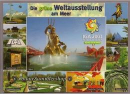 BRD - AK -   Die Grüne Weltausstellung Am Meer / IGA 2003 Rostock - Rostock