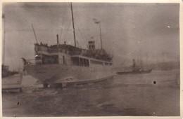 Foto Dampfer Und Schlepper - Ca. 1940 - 8*5,5cm (37159) - Boats