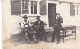 GROUP OF MUSIC FOLK FOLKLORE DRESSED. GERMANY CIRCA 1917. NON CIRCULEE- BLEUP - Fotografie