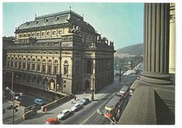Repubblica Ceca – Cecoslovacchia Praha Praga Narodnidivadlo – Théâtre National Non Viaggiata - Repubblica Ceca