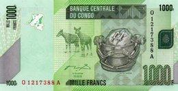 CONGO-1000 FRANCS  2005 (Congo Democratic Republic Kinshasa P-101) - Congo